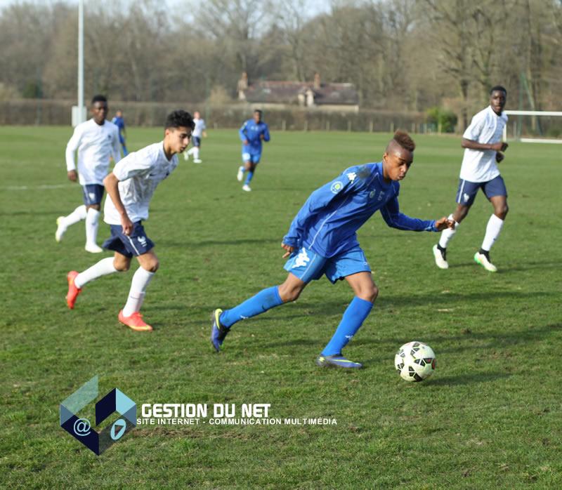 U17 Stock Photos U17 Stock Images: Les U17 Nationaux De Drancy Face à L'équipe De France U16