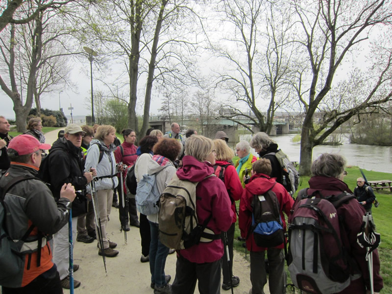 Vernon - Near the Turrets - Explanations of Mary on the Seine (2)